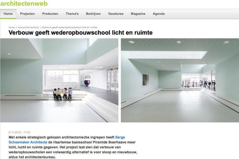 'Verbouw geeft wederopbouwschool licht en ruimte'