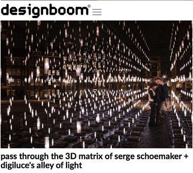 'pass through the 3D matrix of serge schoemaker + digiluce's alley of light'