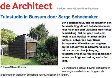 'Tuinstudio in Bussum door Serge Schoemaker'