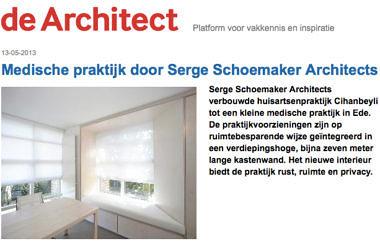 'Medische praktijk door Serge Schoemaker Architects'