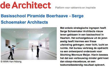 'Basisschool Piramide Boerhaave - Serge Schoemaker Architects'