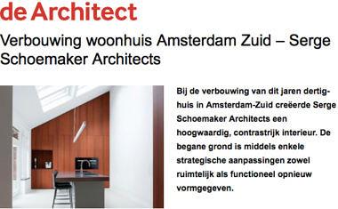 'Verbouwing woonhuis Amsterdam Zuid - Serge Schoemaker Architects'