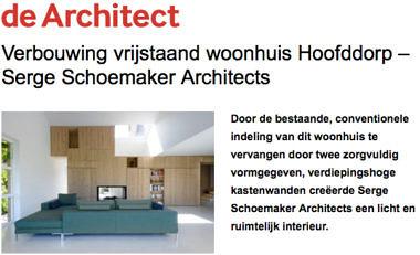 'Verbouwing vrijstaand woonhuis Hoofddorp - Serge Schoemaker Architects'