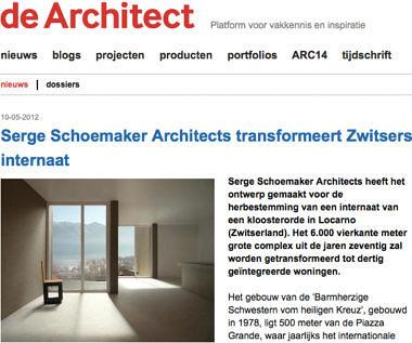 'Serge Schoemaker Architects transformeert Zwitsers internaat'