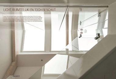 'Zolderverbouwing Dutch Gambrel. Licht, ruimtelijk en toch beschut.'