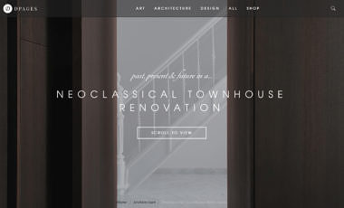 'past, present & future in a neoclassical townhouse renovation'