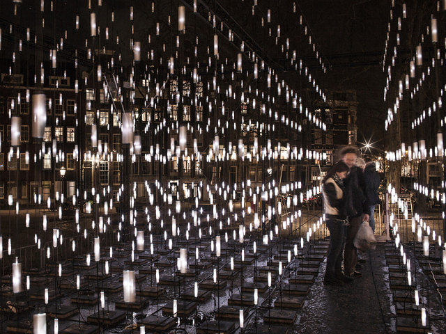 Alley of Light - Amsterdam Light Festival 2014-2015Serge Schoemaker Architects